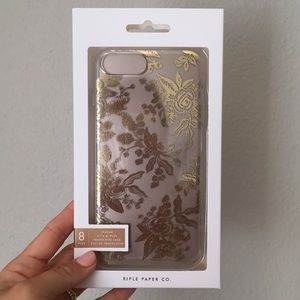 Brand NEW Rifle Paper Company iPhone 8 Plus case